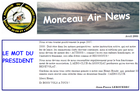 monceau air news Avril 1ere edition 2008